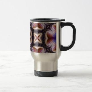 Kaleidoscope Fractal 41 Stainless Steel Travel Mug