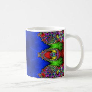 Kaleidoscope Fractal 484 Basic White Mug