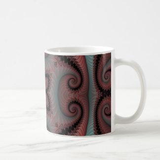 Kaleidoscope Fractal 495 Basic White Mug