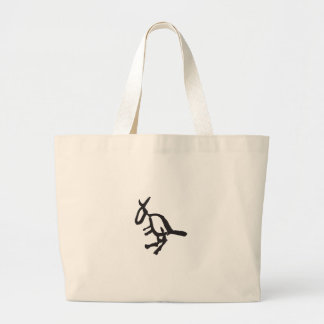 Kangaroo Jumbo Tote Bag