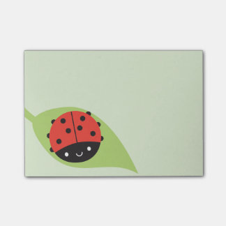 Kawaii Ladybug Post-it® Notes