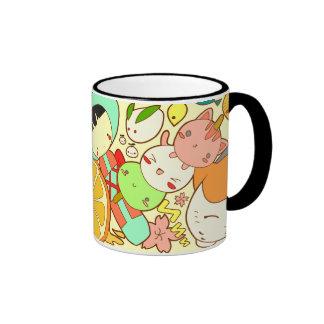 Kawaii Mix Ringer Mug