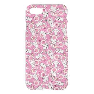 kawaii pink pattern iPhone 7 case