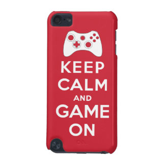 Keep calm and game on iPod touch (5th generation) covers