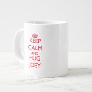 Keep Calm and HUG Joey Jumbo Mug