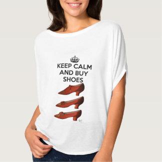 Keep Calm Buy Shoes Tshirt