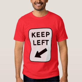 Keep Left (Oz) Tshirt