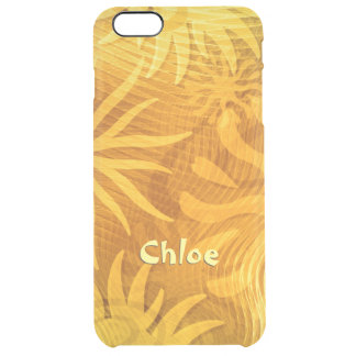 Keeping The Clouds Away abstract sun shapes Clear iPhone 6 Plus Case