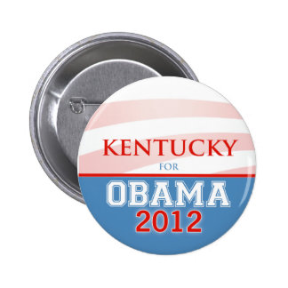 KENTUCKY for Obama 2012 6 Cm Round Badge