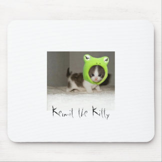 Kermit the Kitty Mouse Pad