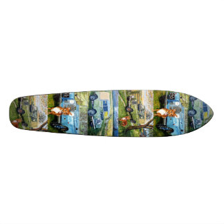 Kick Back Land Rovers Skateboard Deck.