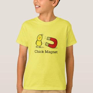 Kids Chick magnet (Classic Shirt Sleeved Tshirt)