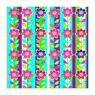 kid's room decor, Girls room,flowers Canvas Prints