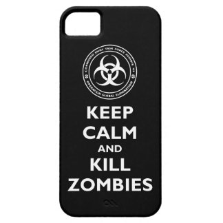Kill Zombies iPhone 5 Cover