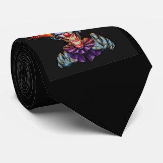 Killer Evil Clown Tie