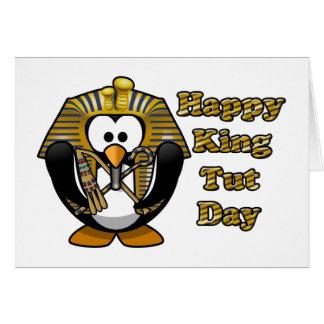 King Tut Day Greeting Card