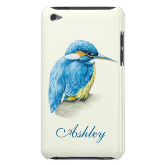 Kingfisher fine art named ipod touch case