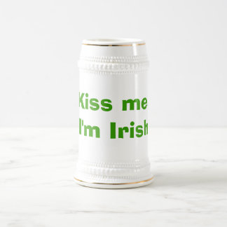 Kiss me, I'm Irish Beer Steins