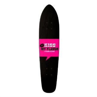 Kiss My Flavor Vape Pink 19.7 Cm Skateboard Deck