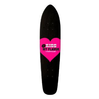 Kiss My Flavor Vape Pink Skateboards