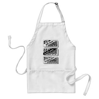 Kitsch Vintage Candy H-Bombs, Jawbreakers Standard Apron