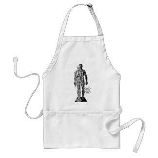Kitsch Vintage Toy Visible Invisible Man Standard Apron