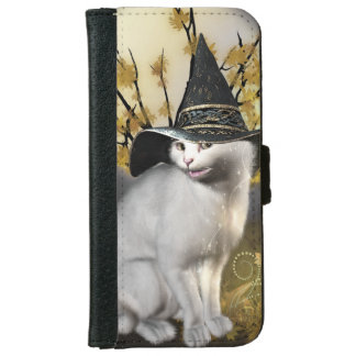 Kitty The Magical Witches Cat iPhone 6 Wallet Case