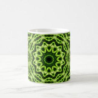 Kiwi Kaleidoscope Basic White Mug