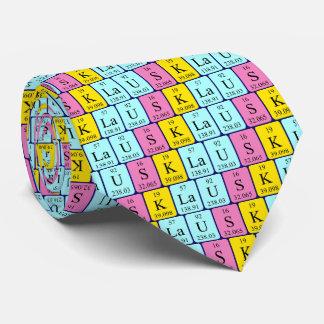 Klaus period table name tie