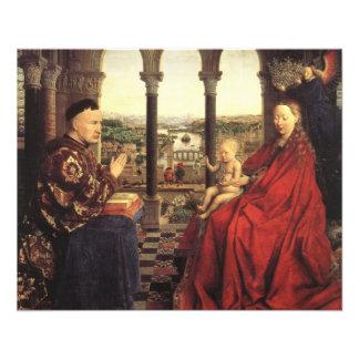 Knights of Christ (Ghent Altarpiece), Jan van Eyck 11.5 Cm X 14 Cm Flyer