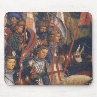 Knights of Christ (Ghent Altarpiece), Jan van Eyck Mouse Pad