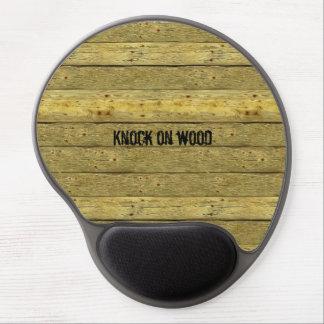 Knock On Wood Novelty Gel Mousepad