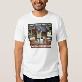 Knowledge Dog Anions aren't negative T Shirt