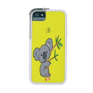 Koala Monogram Case For iPhone 5