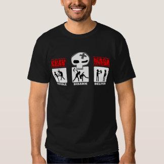 Krav Maga - 3D Small Icons T Shirts