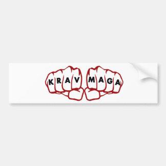 krav Maga fists Bumper Sticker