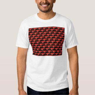 Krill Pattern in Black T Shirt