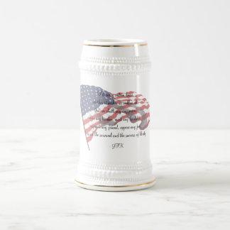 KRW JFK Quote Stein Beer Steins
