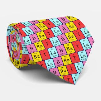 Lab Rat periodic table name tie