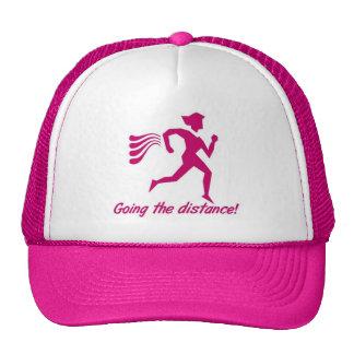 LADIES GOING THE DISTANCE RUNNING CAP