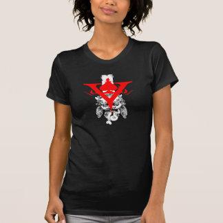 Ladies Twofer V promo shirt 2