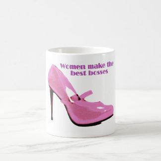 Lady Boss Basic White Mug