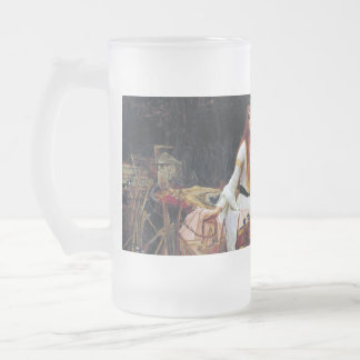 Lady Of Shallot Boat Waterhouse Art 16oz Beer Mug
