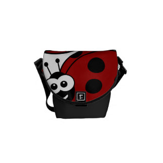 Ladybug Courier Bags