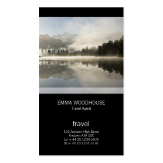 Lake Matheson Pack Of Standard Business Cards