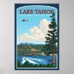 Lake Tahoe Travel Poster