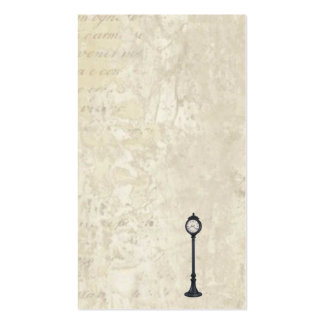 LAMP POST CALLING CARDS PACK OF STANDARD BUSINESS CARDS