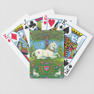 Land Of Eden Unicorn Deck Of BICYCLE POKER CARDS