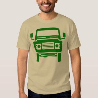Land Rover illustration (green) Tees
