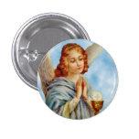 Lapel Pin: Angel Ponders 3 Cm Round Badge